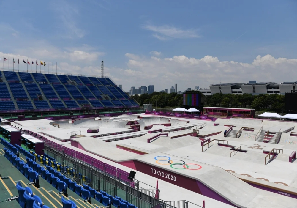 The Ariake Urban Sports Park at the 2020 Tokyo Olympic Games.